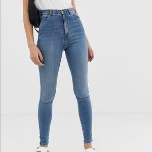 Dr Denim Moxy Super High Rise Skinny Jeans